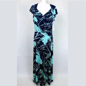 Leota Stitch Fix Caledonia Jersey Knit Maxi Dress
